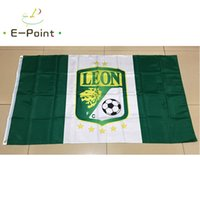 Wholesale Mexico Gifts - Mexico Liga Leon FC 3*5ft (90cm*150cm) Polyester flag Banner decoration flying home & garden flag Festive gifts