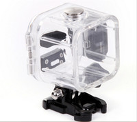 Wholesale session camera - Underwater m Waterproof Protective Housing Case Cover Frame Base for GoPro Hero Session Outdoor Sports Camera MOQ