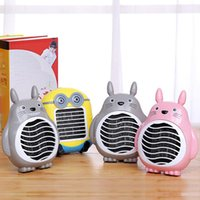 Wholesale New Cute Cartoon Portable Household Electric Heater Fan Heater Mini Heater Hand Warmer Small Household Appliances