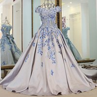 Wholesale Pageant Dresses For Women Short - Sexy Women Dresses For Prom Evening Dresses 2017 Luxury Designer Prom Dress Cap Sleeves Crystal Beaded Tulle Formal Pageant Gowns