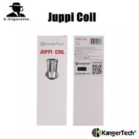 Wholesale Dhl Free Shipping Kanger Tank - 100% Original Kanger Juppi Coil 0.2ohm Repalcement Coil Fit For Juppi Tank DHL Free Shipping
