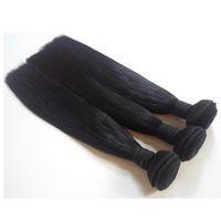 Wholesale vietnamese 7a brazilian hair weave for sale - Group buy 7A Unprocessed Peruvian Virgin Hair Straight Bundles Cheap Human Hair Weaves inch Brazilian Indian remy Hair Weaves extensions