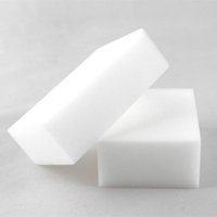Wholesale Bathroom Clean - 100Pcs Magic Sponge White Melamine Sponge Eraser For keyboard Car kitchen Bathroom Cleaning Melamine Clean High Desity 10x6x2cm