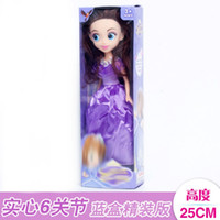 Wholesale mini princess doll figure - Barbie Princess Dolls Creative Birthday Gift Anime Cartoon Child Toy Best Good For Kid Gift Multicolor Select Plastic Material 4 8gn I1