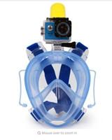 Wholesale Diving Swimming Snorkel - 2017 AAA Winmax Goggles Underwater Scuba mergulho Anti Fog Full Face Diving Mask Snorkeling Set Earplug Snorkel Swimming Training Scuba