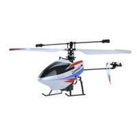 Wholesale Helicopter Radio Single - WLtoys Upgrade Version V911 2.4Ghz 4CH Single Blade Radio RC Helicopter GYRO Red RTF