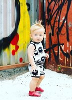 Wholesale Tank Top Kids Winter - Children comfortable outfits kids cartoon anime printed tank top+pure cotton shorts boys girls household outfits kids summer clothing T4129
