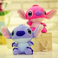 Wholesale Wholesale Discount Plush Toys - Discount 18cm Kawaii Stitch Plush Toys Anime Lilo and Stitch Soft Stuffed Dolls Stich Plush Children Kids Gift