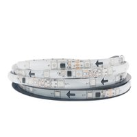Wholesale double sided strip lights for sale - Group buy 5M Roll LED SMD RGB Automatic Changing LED Strip Light Back with Double Sides Adhesive Tape