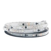 tiras de doble rollo led al por mayor-5M / Roll 150LED 5050 SMD 2811 RGB Cambio automático de tira de luz LED con cinta adhesiva de doble cara