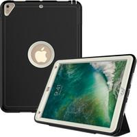 couverture de protection mini ipad achat en gros de-Nouveau caisson de protection arrière Kickstand pour Smart iPad 9.7 Air 10.5 Air 1 2 Mini 3 4 5 Pro 9.7 12.9 11 Samsung Auto S5