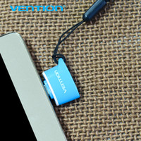 Vention Micro USB a USB OTG Adapter 2.0 Converter Per Android Samsung Galaxy S3 S4 Tablet PC S5 a Flash Mouse Tastiera