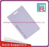 Wholesale 125 Khz Id - 100pcs lot long distance EM4200 125 KHZ RFID card EM Thick ID cards suitable for access control