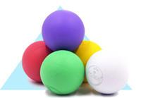 Wholesale purple yoga balls - Fitness Training Massage Ball Lacrosse crossfit Ball 6.5cm Trigger Point Body Yoga Sport Exercise Popular
