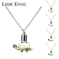 Wholesale Glow Turtles - Wholesale-LIEBE ENGEL Fashion Luminous Glowing In Dark Necklace Turtle Pendant Necklace Noctilucent Statement Collares Women Jewelry 2016
