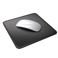 Wholesale dodocool in Mouse Pad Carrying Case PU Leather Surface Non slip Base Stitched Edges quot x quot DC25