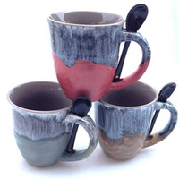 Wholesale Zakka Spoon - Zakka Anti Export Mug Fambe Mugs High Capacity Exit Office Coffee Cup With Spoon Personality Cups Hot Sale 6md R