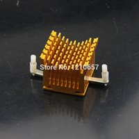 Vente en gros- 2pieces lot 2pcs IC Golden CPU CPU North Bridge Refroidissement Radiateur