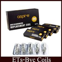 Wholesale Mini Vivi Atomizer - BVC Coils Heads For CE5 ET CE5-S ET-S BDC Atomizers Vivi Nova Mini Vivi Nova BVC Replacement Coil free DHL