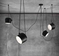 1 2 3 4 5 heads diy drum led pendant lamp for restaurant modern clothing store window industrial pendant light indoor lighting fixture - Cheap Light Fixtures