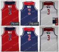 Wholesale Wall Wizard - Washington 2018 New WAS Jersey Men Women Youth,Signature Retro Signed, 2 John Wall 3 Bradley Beal, Kids USA Dream Team JW BB Wizards