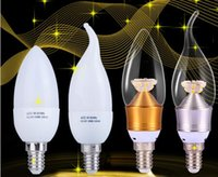 Wholesale Ampoules Led E14 - E14 Led Candle Bulb Energy Saving Lamp Light Bulb Velas Led Decorativas Lamp E14 220V 3W 5W Ampoule led