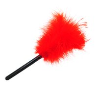 Red Color Feather Tickler Kinky Naughty Bondage Fancy Dress Peitsche Spanking Sex Aid Spielzeug, 50 SHADES OF GREY