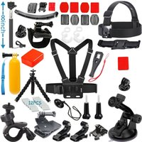 Wholesale Value Pack Accessories Kit for Gopro Hero Black Silver Action Camera SJCAM SJ4000 SJ5000 SJ6000 SJ7000 in1