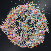 Wholesale 3mm glitter for sale - Colorful Manicure Glitter confetti for weddings Mixed Shapes Size mm Great for Party Décor DIY Crafts Premium Nail Art Etc