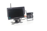 Wholesale Digital Car Parking Sensor System - car truck wireless rearview camera intelligent parking assistance system PZ607W 7 inch 16:9 digital panel Camera Pixal 648*488 Free DHL