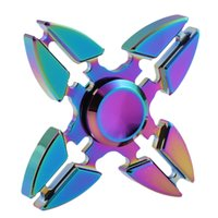 Wholesale Premium Times - 2-3 minute Rotation Time Rainbow Fidget Spinners Hand Spinner for Killing Time Fidget Toy With Premium