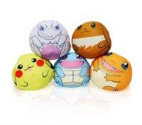 New Poke Pikachu Mewtwo Plush Key Rings Cartoon Figure Handbag Car Celular Pingente Chaveiro Stuffed Doll Toys Presentes