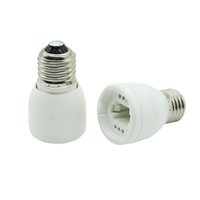 Wholesale G24 Base Led Bulb - E27 to G24 Socket Base LED Halogen CFL Light Bulb Lamp Adapter Converter High quality fireproof material