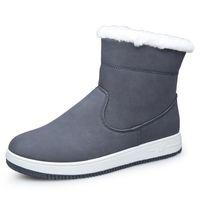Wholesale Winter Cold Shoe - Wholesale-2016 New Winter Shoes Men Snow Boots Fashion Men's Boots Warm Cotton Shoes Man Brand Ankle Botas Cold Winter High Quality ZH627