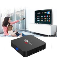 Wholesale Mx Android Tv Boxes - MX MXQ Pro 4K S905 S905X 1G 8G Android 5.1 6.0 TV Box Quad Core HDMI Smart TV Player