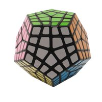 Wholesale Masters Education - MF8 Master Kilominx Puzzle Magic Cubes Challenging Twist Spring Puzzle Cubo Magico Learning Education Toys Black(stickered) L-50