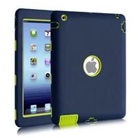Wholesale Drop Proof - For Apple ipad 2 3 4 5 6 case Amor Heavy Duty Drop resistance Shock Proof tablet Case for IPAD MIMI 1 2 3 IPAD MINI 4 pro9.7