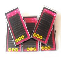 Wholesale wholesale korean eyelash - Wholesale New Arrival Faux mink lashes extensions 0.07mm Korean false eyelashes 3pcs lot Free Shipping