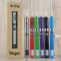 evod kit geschenk großhandel-Vape Pen eVod MT3-Geschenkkartonpaket UGO V ii MT3 Cartomizer Einzelner eGo-Verdampfer-Starter-Kit mit Micro-USB-Passthrough-Batterie mit 510 Fäden
