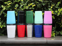 Wholesale Mugs For Kids - 10 colors !9oz kids cup mug with lids straws Stainless Steel Insulated kids cup Wine for kids students mugs with straw 10 colors