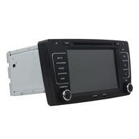 skoda octavia radio bluetooth großhandel-8-Zoll-HD-Bildschirm Andriod 5.1-Auto-DVD-Player für SKODA OCTAVIA 2012 mit GPS, Lenkradfernbedienung, Bluetooth, Radio