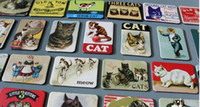 Wholesale Arts Crafts Homes - 24 Piece Magnetic fridge magnets cat design home decoration accessories magnetic paste Arts Crafts