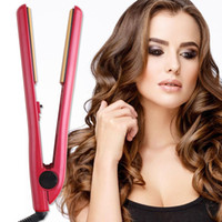 Wholesale Wholesale Ceramic Hair Straighteners - Electric Hair Irons Hair Straighteners Ceramic Hair Curler Styling Tools Irons US EU Plug Good Quality