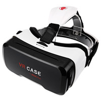 Wholesale Len Cases - VR CASE RK 6th 130 Wide Angel Degree 3D VR Glasses Ultra-clear Coated Len Virtual Reality VR Case for 4 - 6.5 Inch Smartphone HOT +B