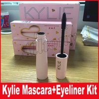 Wholesale Halloween Mascara - Kylie Birthday Edition Mascara Eyeliner 2 in 1 set Anniversary Edition Black Color By Kylie Cosmetics