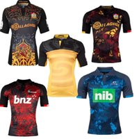Wholesale 2017 New Zealand rugbys jersey is the best British rugby jersey rooster jerseys with the high landers blue chief s xl