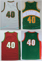 Basketball sport flash player - Cheap Shawn Kemp Jersey Throwback Green Red White Basketball Kemp Jerseys Shawn Sports All Stitched with player name