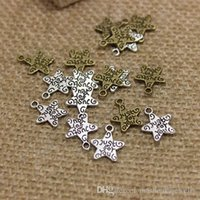 Буква JUST FOR YOU Star Antique Bronze Charm Fashiony Pendant Wholesale Fit Jewelry Making 200pcs 10 * 13mm CP295