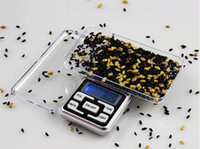 Wholesale Lcd Scale Display - Hot Sale 200g x 0.01g Mini Digital Jewelry Scale Balance Pocket Electronic Scale Grams LCD Display Free Shipping