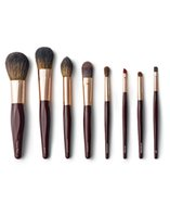 Wholesale Night Sets - Charlotte Tilbury THE COMPLETE BRUSH SET - ROSE GOLD & NIGHT CRIMSON Powder Sculpting Eye Shadow Contour Brush Beauty makeup brushes Blender